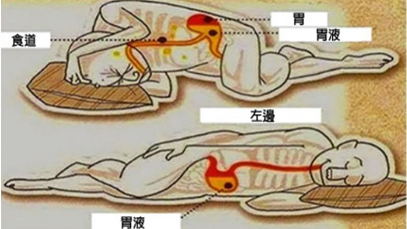 這就是「往左側睡」的人為何總是活得比你久的關鍵原因!
