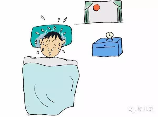 孩子睡覺大汗淋漓?警惕這個時間點出汗可能是大病